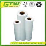 La sublimación de alta calidad 88GSM Tamaño del rollo de papel de transferencia