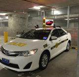 영상 광고를 위한 상위 패널이 P2.5 P4 P5 택시 상단 발광 다이오드 표시에 의하여, 택시 지붕 스크린 표시, 택시로 간다