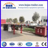 Jsxt 2/3 Wellen-Behälter-Flachbett-LKW-halb Hilfs-/Ladung-Schlussteil