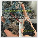 Singoli fiocchi della plastica della vite che riciclano e che pelletizzano espulsore