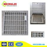 La rejilla de acero para aplicaciones de servicio pesado