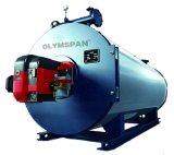 Chaudière à vapeur Bois-Allumée verticale de tuyau d'eau