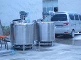 Tomates del acero inoxidable que mezclan el tanque con el alto mezclador superior del esquileo