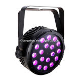 Vello LED 벽 세탁기 단계 동위는 점화할 수 있다 (LED EIF ColorPar-18 5in1)