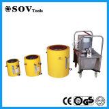 Cylindre hydraulique temporaire de double de 200 tonnes