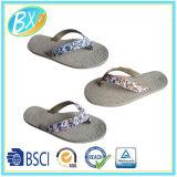 Sandali superiori del tessuto di cadute di vibrazione delle signore con la suola di corda