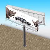 Structuur van het Staal van het Aanplakbord van Unipole van de Gezichten van de weg de Dubbele Openlucht