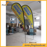 Aluminum flag of banner display for sport Tradeshow