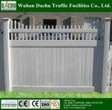 Estilo varios Patio PVC Fence