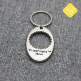 precio de fábrica barata de piezas de anillos de la cadena clave personalizada grueso