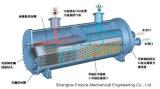 La placa y el shell del intercambiador de calor
