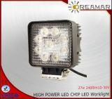 indicatore luminoso di azionamento automatico di 27W 2400lm LED con IP67, garanzia 2years