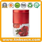 Олов хранения еды банок кухни металла сахара чая кофеего установленные