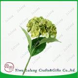Brillo natural de la cabeza de la flor de seda Atificial Racimo de flores de hortensia