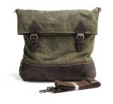 Мода дизайн водостойкий холст наплечная сумка из натуральной кожи для отдыхающих дорожная сумка (RS82052K)
