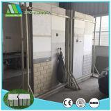 Material de construcción cemento aislante EPS de paneles sándwich de la pared interior/exterior