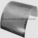 Netwerk van het Metaal van de Ets van de Foto van de Legering van het aluminium het Chemische Akoestische Geperforeerde