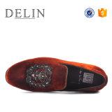 صنع وفقا لطلب الزّبون رجال متعطّل بقية [سود] أحذية رسميّة