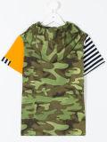 Camisa feita sob encomenda da forma T do verão da roupa dos meninos