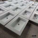 2017小さい石造りの樹脂の卸売のシャワーの円形の洗面器