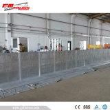 Alimentação de fábrica Portable Dobra Concertos temporária de controlo de multidões Barreira Mojo/tráfego barreira de estrada