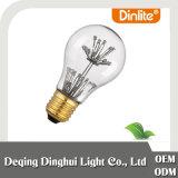 Alte konkrete Birne der hängenden Lampen-1.2W der Feuerwerk-A60 Edison LED