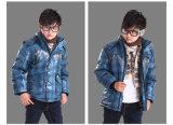 Новая конструкции зимы куртка вниз с съемным дном для мальчика