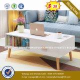 Tavolino da salotto di bambù su ordinazione dei piedini del MDF di codice di colore (HX-8NR0866)