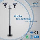 Indicatore luminoso solare rispettoso dell'ambiente per il giardino con 3m Palo