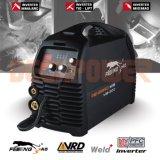 MIG TIG MMA/Arc 3in1 IGBT sinérgica de 200 amp Máquina de soldadura