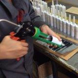Uma colagem acética do silicone do vedador componente para o vidro do aquário