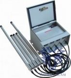 6bands는 조정가능한 고성능 전화 GSM CDMA WiFi 4G 신호 형무소 방해기를 방수 처리한다