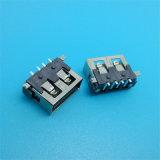 Kurzschluss steckt den 10.0 SMD Typen Verbinder USB-2.0 fest