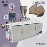 Plancher de PVC transparent/transparent/vinyle/production de marbre d'imitation Extrding d'Exruder de feuille/panneau/panneau faisant la machine d'extrusion