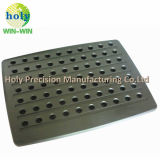 Lamiera sottile di alluminio personalizzata di CNC con lavorare anodizzato di CNC di rivestimento