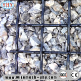 Hoher Kohle-Stahlmaschendraht des Kohlenstoff-55 für Steinbruch