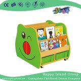 Modelo de veículo de desenhos animados escolar estante de livros para criança (HG-6010)