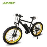 48V de 26 pulgadas de 1000W de arena a la moda de los neumáticos de la grasa de la nieve Bicicleta eléctrica