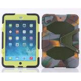 iPadの空気2のための耐震性のシリコーンそしてプラスチック二重保護装甲箱