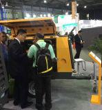 Compressore d'aria portatile della vite SDP185 guidato da diesel