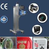 máquina da marcação do laser do CO2 20W para PVC do metalóide, PE
