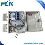 FTTX FTTH de Muur Pool zette Bijlage van het Netwerk van de Toegang van de Doos van de Distributie van de Vezel de Optische op