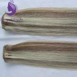 Trama brasiliana dei capelli ondulati del corpo di colore del piano dei capelli di Remy
