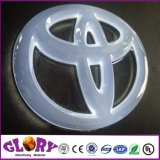 Logotipo do carro em 3D LED iluminado o logotipo do carro