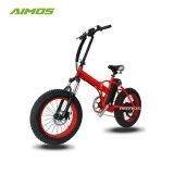 Зеленый индикатор питания Enviornmental жир с велосипеда с электроприводом складывания шин при содействии педали управления подачей топлива