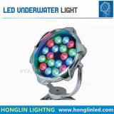 Indicatore luminoso subacqueo del giardino impermeabile esterno di IP68 6W LED