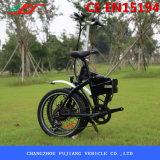 Bici eléctrica plegable 20 con la rueda integrada