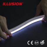 IP68. Une connexion transparente anti-jaunissement néon LED Flex Strip Light
