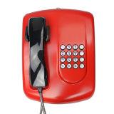 Telefono pubblico senza fili impermeabile della Banca di VoIP del telefono del telefono a gettone Emergency di GSM