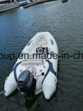 Liyaの工場直売3.8mの肋骨のボートのシートコンソール、ゴム製ボートの価格